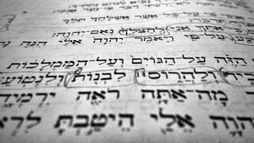 Biblical Hebrew Classes