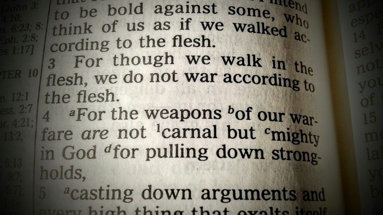 The Weapons of Our Warfare: The Question of Churches Arming Themselves