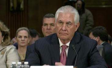 Rex Tillerson Confirmation Hearing