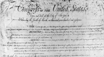 A Reminder for This Week: The First Amendment