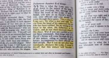 God's Warning to A King