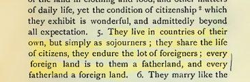 An Early Description of Christians