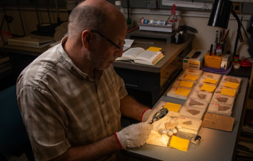 Multispectral Imaging, 2000 Year Old Pottery, and Aramaic