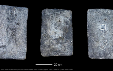 Tin from 13th-12th century BCE locations on the Eastern Mediterranean may have originated in England