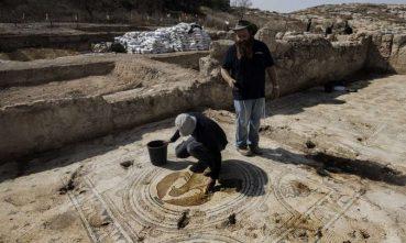 """Israel Antiquities Authority showcases Beit Shemesh """"Gloriorius Martyr"""" Church"""