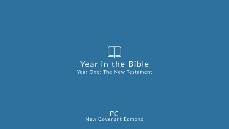 Year in the New Testament Podcast: Acts 1-4